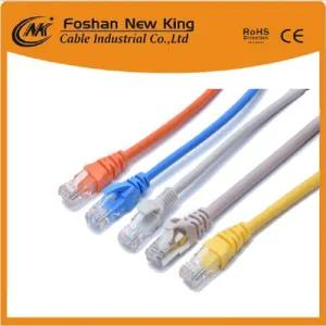 Cable Enternet de datos Cable UTP Cable LAN CAT6 Cable de red con conductor de cobre