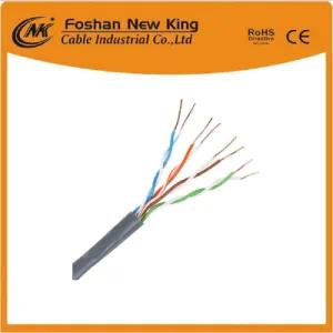 Fábrica Cat5e UTP FTP LAN Cable de red Cable 0.5mm Bc / CCA