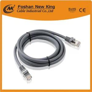 Fábrica de China UTP FTP Cat5e Cat 6 Ethernet Cable de red al aire libre Cable en espiral 305m / caja