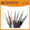 China fabricante Digital Quad Shield RG6 CCTV y cable coaxial CATV con CCS o Bc Conductor
