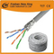 Cable LAN UTP / FTP 4X2X24AWG CCA / Bc Cat5e Cable de red de 305 metros para interior